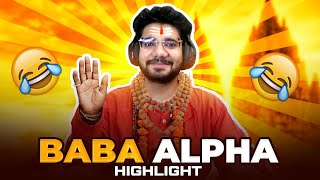 MEET BABA ALPHA in PUBG MOBILE!  😂  || FUNNY HIGHLGIHTS in PUBG MOBILE!