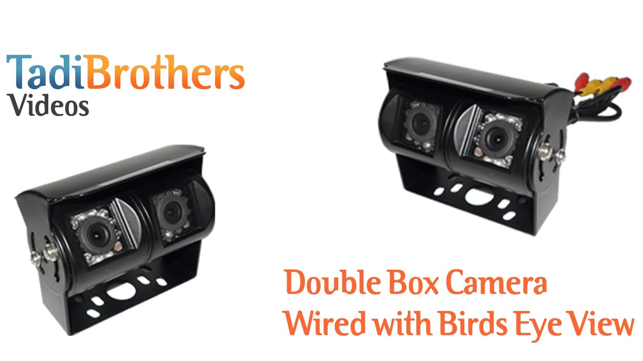 Double Box RV Camera with dual lens for Backup Camera Systems from ...