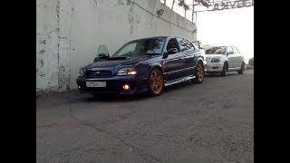 Subaru Legacy заряженая автозвуком
