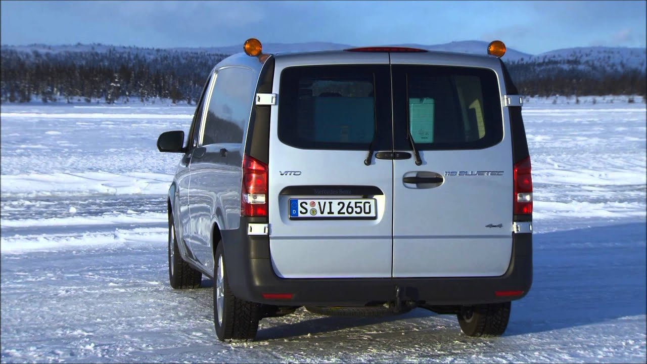 mercedes benz vito 4x4 119 bluetec panel van design youtube. Black Bedroom Furniture Sets. Home Design Ideas