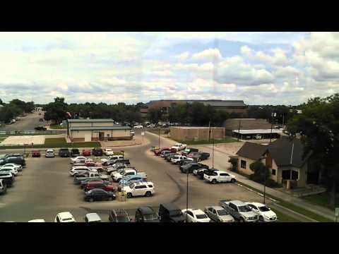 Parte de la ciudad de San Angelo Texas y shannon hospital.