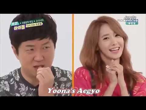 Girls Generation Yoona new Aegyo 2015  Aegyo Confession song 2015