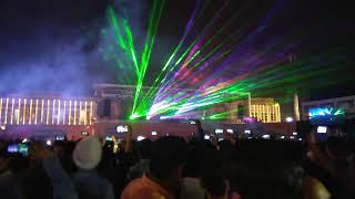 Amazing light of diwali nights at HCL technologies Noida