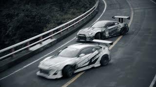 GT-R Drift on Turnpike Hakone Ⅱ | TOYO TIRES