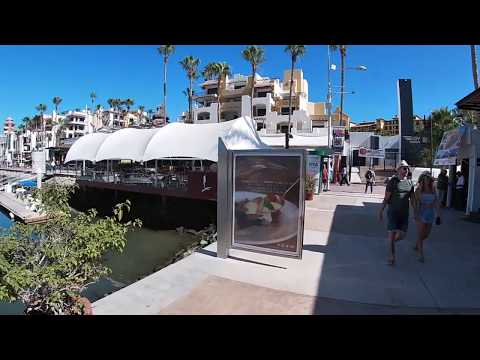 2020 Walkthrough Cabo San Lucas Mexico Baja California Sur - Los Cabos Marina