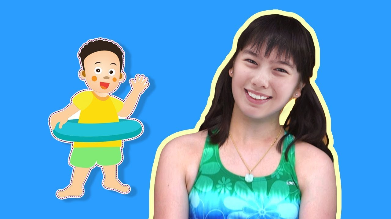 Swimming In The Swimming Pool Johny Johny Yes Papa Song Nursery Rhymes Learn Colors For
