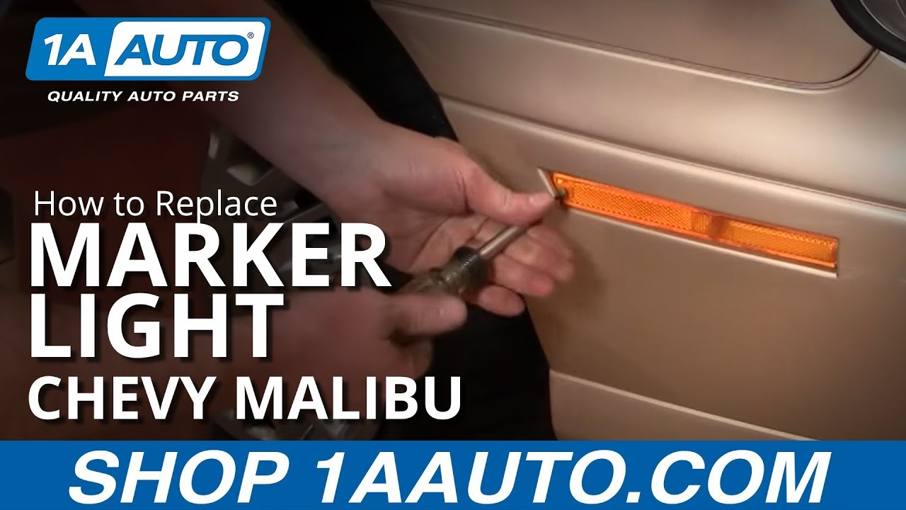 How to Replace Marker Light & Bulb 97-03 Chevy Malibu