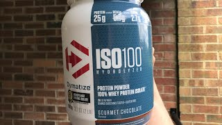 Dymatize ISO100 Gourmet Chocolate Review | JS Fitness
