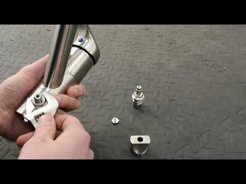 Osmio Cosmo Leola 3 Way Tap Filter Valve Change