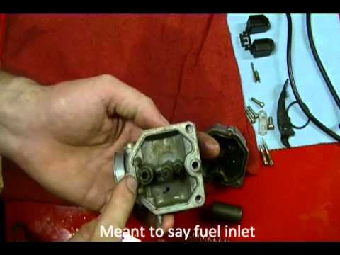 Motorcycle Repair How To Clean A Motorcycle Carburetor