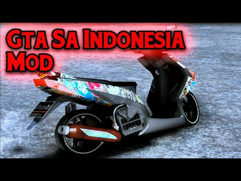 Honda Vario Cewek Styles Mod Gta Sa Indonesia