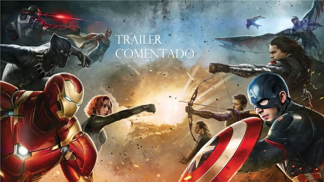 Capitao America 3 Guerra Civil Trailer Comentado Youtube