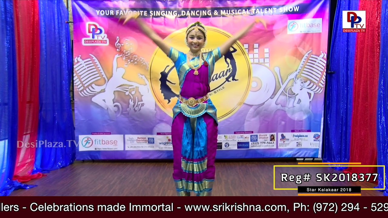 Participant Reg# SK2018-377 Performance - 1st Round - US Star Kalakaar 2018 || DesiplazaTV
