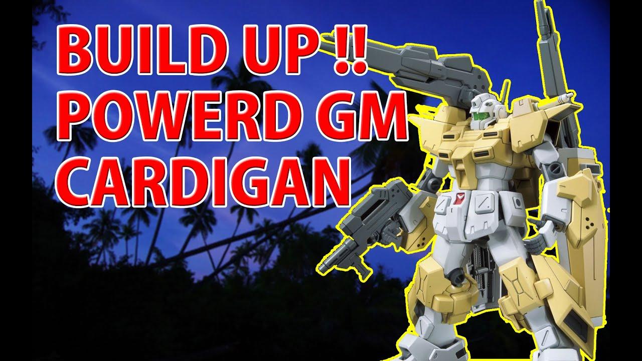 Gunpla Stop Motion Movie Powered Gm Cardigan From Gundam Build