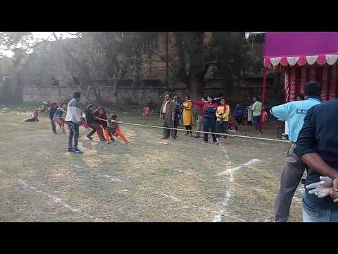 Tug of war in Serampore College Annual Sports Meet 2018