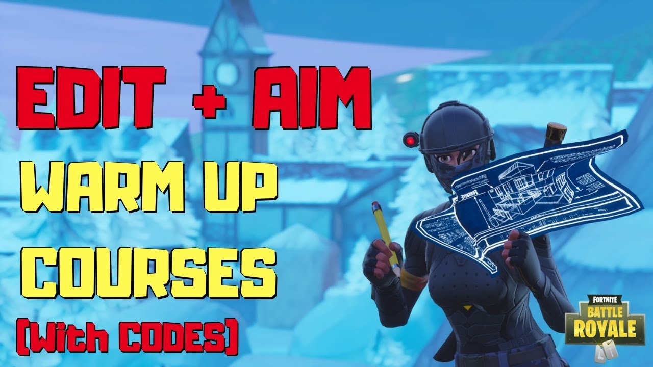 BEST EDITING & AIMING WARM UP COURSES (w/ CODES) | Fortnite: Creative Mode  ft/ Candook, Geerzy
