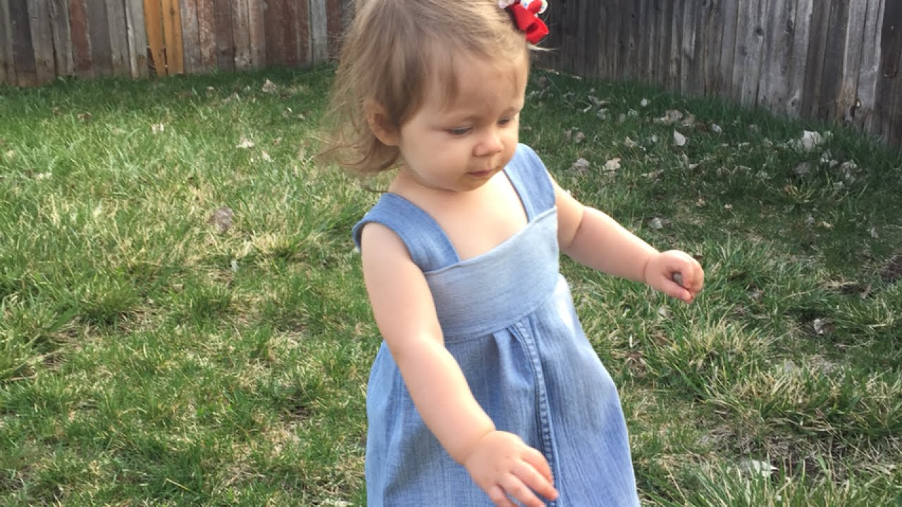 e1ebdab6aed How To Sew an Adorable Denim Dress out of Old Jeans - DIY Style ...