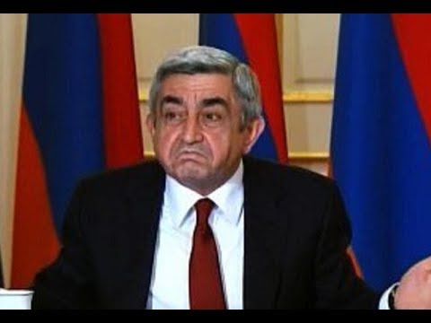 Президент Армении Серж Саргсян ушёл в отставку! ПОБЕДА!!!