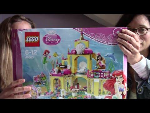 test lego royaume d 39 ariel 6 12 ans choix de parents avis jouet youtube. Black Bedroom Furniture Sets. Home Design Ideas