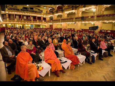 An Impressive Peace Speech by Acharya Rajan Sharma at the 'World Peace Council Conference '