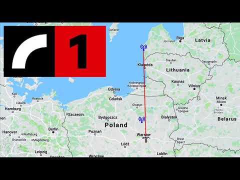 LATVIA's RADIO 1 (500km TROPO FM DX)