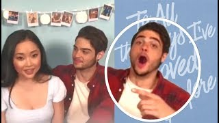 Noah Centineo Can't Contain Himself Around Lana Condor