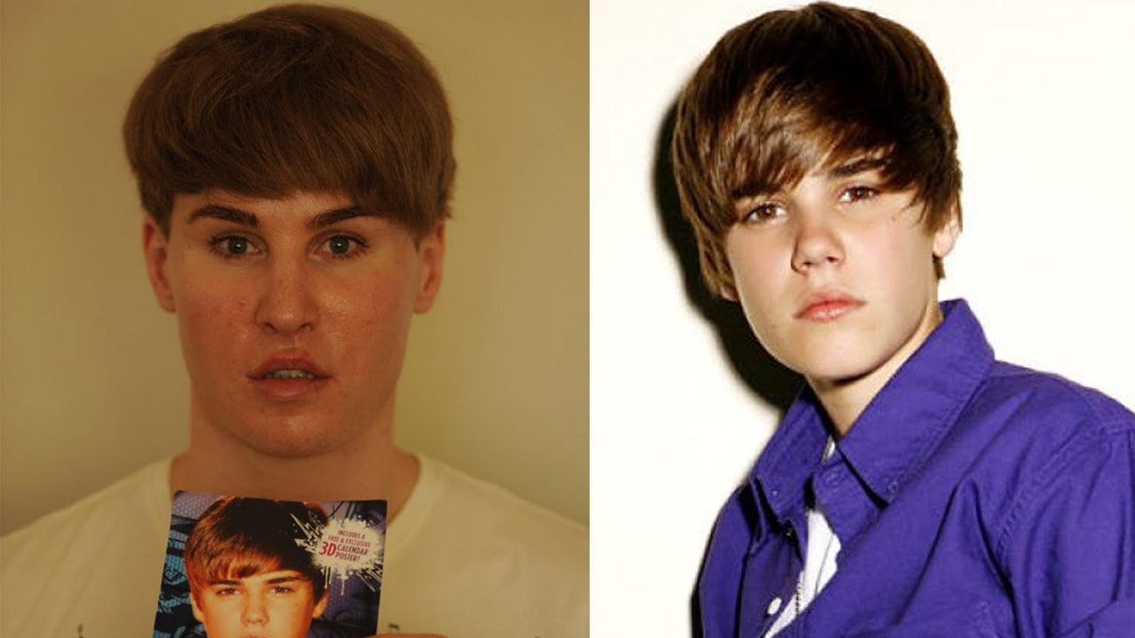 Guys Spends $100,000 To Look Like Justin Bieber - Plastic Surgery - YouTube