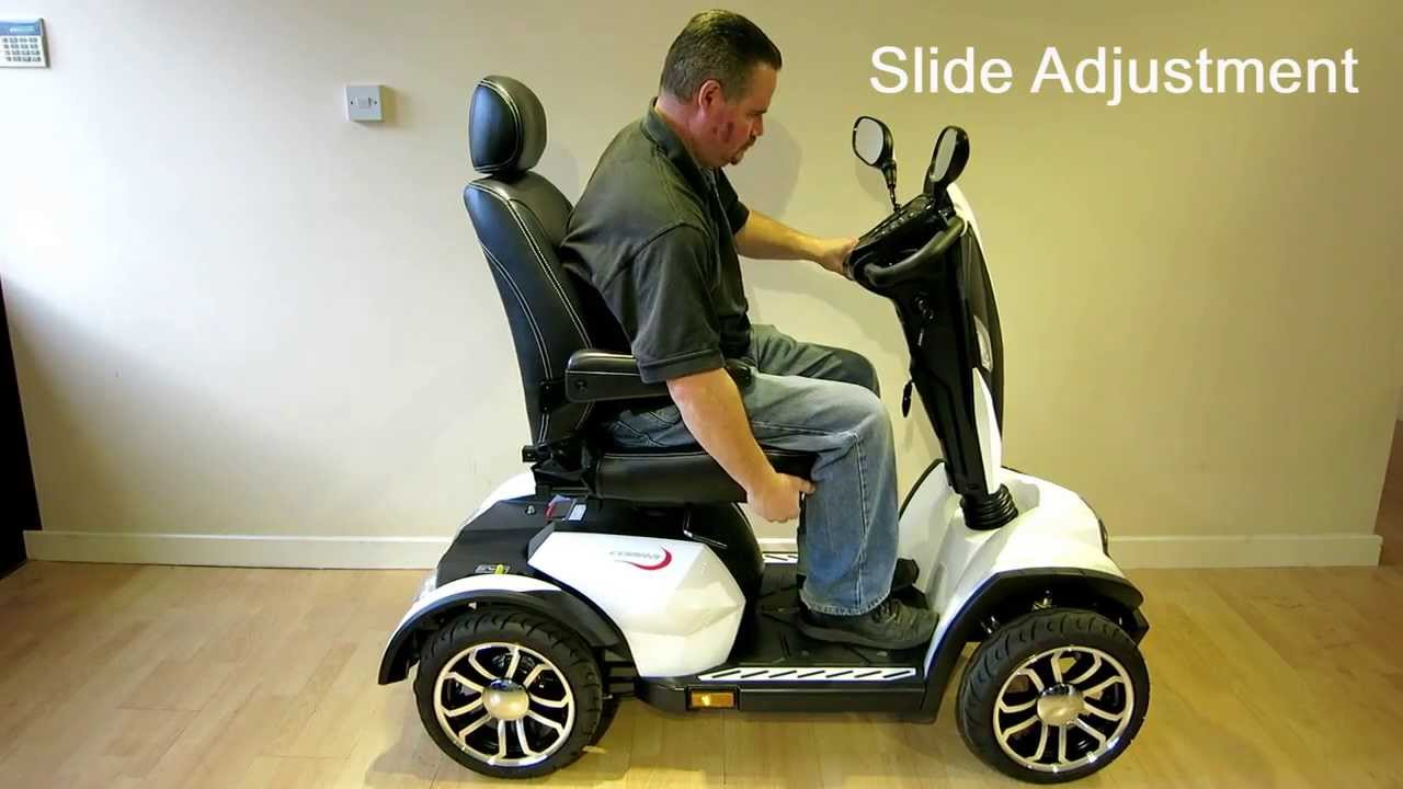 Cobra Mobility Scooter from Drive Medical (8MPH Class 3)