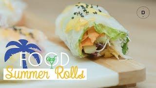 Summer rolls – Recette Healthy