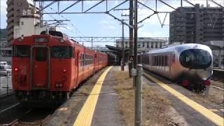 【甲種回送】下松駅 できたてほやほや西武新型Laviewと遭遇 その他キハ40回送・貨物など記録