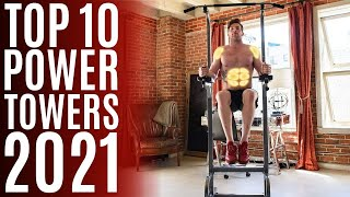Top 10: Best Power Towers of 2021 / Dip Station, Pull Up Bar, Push Up for Workout, Fitness, Gym