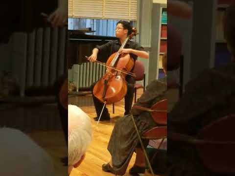 Music Worcester Young Artist Competition 2017 winner Andrew Kim plays Lalo Cello Concerto