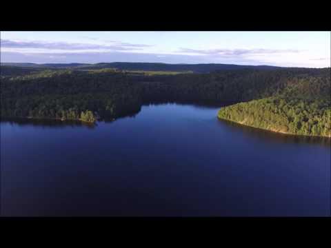 Aylen Lake Ontario Canada Aerial Drone Footage