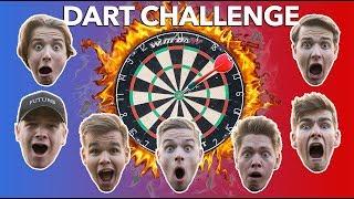 VILD DART CHALLENGE MED GUTTERNE !?!?