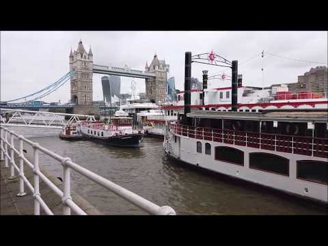 London Walk: Butler's Wharf, Tower Bridge, South Bank, London Bridge (narrated)