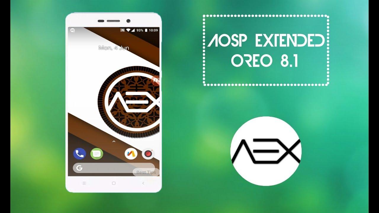 Aosp Extended New Custom ROM For REDMI 4A 2018