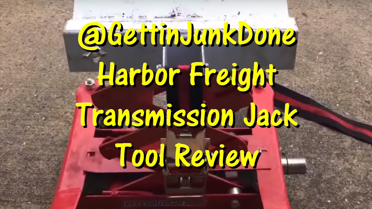 A Must Have Tool! Harbor Freight Transmission Jack @Gettinjunkdone  Gettin'  Junk Done 03:23 HD