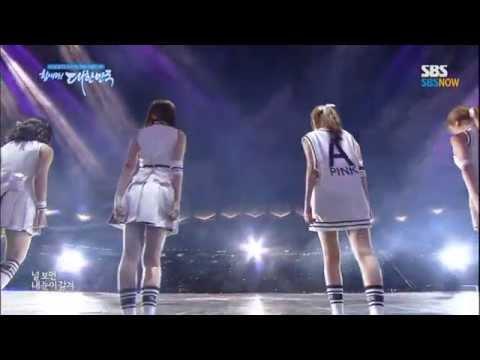 A-Pink - Mr. Chu @ Dream Concert 2014