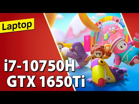 i7-10750H + GTX 1650 Ti // Test in 10 Games