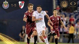 Chivas se lleva goleada de escándalo | Chivas 1 - 5 River Plate | Colossus Cup | Televisa Deportes