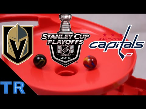 Stanley Cup Finals 2018 - Las Vegas Golden Knights vs Washington Capitals - NHL Hockey - Toy Racing
