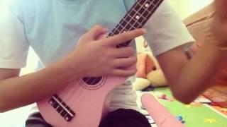 Xa mẹ con sống sao ( mama ) ukulele