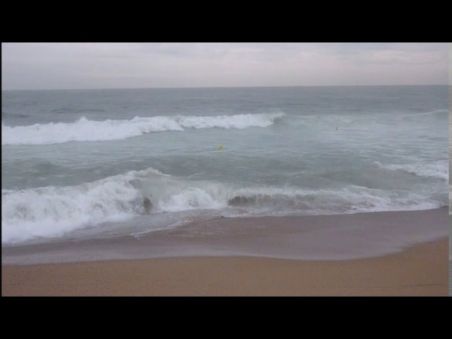 Temporal de mar a Badalona - Octubre 2016