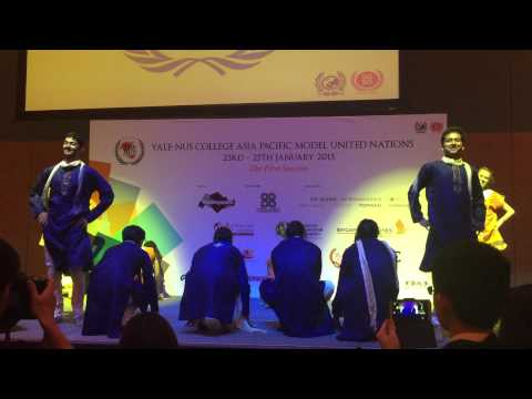Yale-NUS Bhangra at the YNC Asia-Pacific Model United Nations