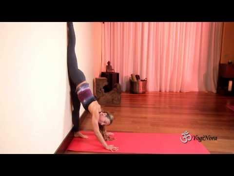 Yoga Splits Against The Wall With Yogi Nora