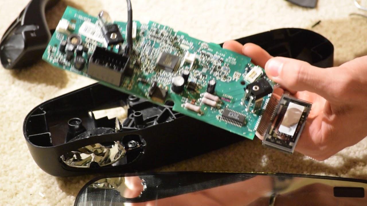 medium resolution of c6 corvette rear view mirror breakdown