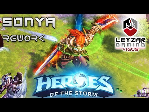 Heroes Of The Storm News Let S Talk About The Sonya Rework Youtube Trait fury instead of mana, sonya uses fury.you get fury how. youtube