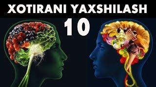 Хотирани Яхшиловчи 10 Махсулот !!!