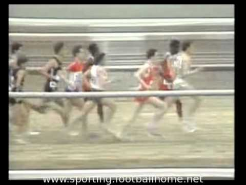 Atletismo :: Carlos Lopes campeão do Mundo de Corta Mato em 1984, East Rutherford (New Jersey)