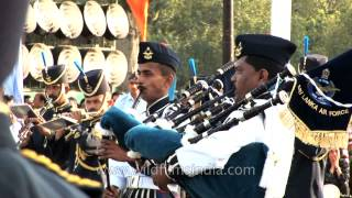 Sri Lanka Air Force Band regales on the occasion of IAF